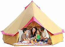 3-10 Persons Bell Tents Outdoor Waterproof Four