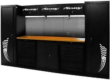 3.25m Garage Tool Station With Tools and Workbench