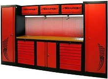 3.25m Garage Tool Station With Tools and