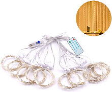 3*3-m USB Music Sound Control String Light Starry