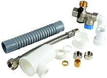3/4 horizontal safety group + drain trap : 071050