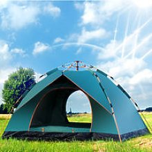 3-4 people Automatic waterproof camping tent