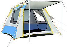 3-4 Person Camping Tent Windproof Rainproof Large