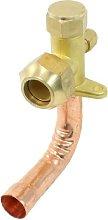 3/4 PT Inlet 3 Way Bend Flare Tube Split Valve for