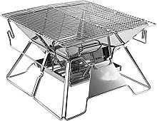 3-5 Persons BBQ Grill Portable Stainless Steel