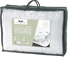 3.5cm Polyester Mattress Topper Symple Stuff