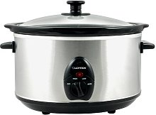 3.5L Stainless Steel Oval Slow Cooker Symple Stuff