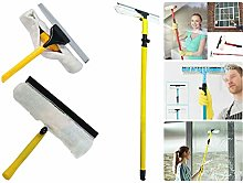3.5M Extendable Telescopic Window Dust Glass