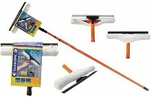 3.5M Telescopic Conservatory Window Glass Cleaning