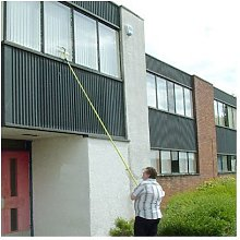 3.5M TELESCOPIC METAL WINDOW CLEANING CONSERVATORY