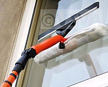 3.5M TELESCOPIC WINDOW CLEANER KIT WINDOW CLEANING