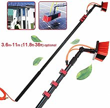 3.6-11m Window Cleaning Pole, Photovoltaic Panel
