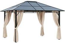 3.6 x 3m Gazebo Sun Shade Canopy Marquee Party