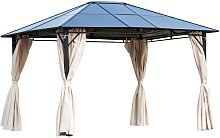 3.6 x 3m Gazebo Sun Shade Canopy Marquee Party