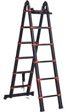 3.8M Duo Aluminium Ladder Tool Holder Herringbone