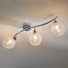 3-bulb LED ceiling light Ticino
