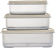 3 Container Food Storage Set ROYALFORD Colour: