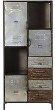 3-Door 4-Drawer Industrial Storage Cabinet