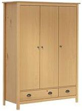 3-Door Wardrobe 'Hill Range' 127x50x170 cm