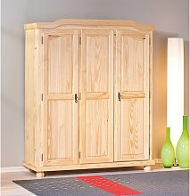 3 Door Wardrobe August Grove