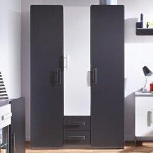3 Door Wardrobe Brayden Studio