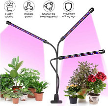 3-Head Grow Light Adjustable Arm 60 LED Light Bulb