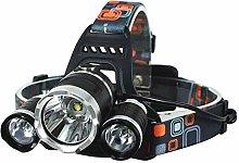 3 Headlights T6 Strong Headlights Charging Lights