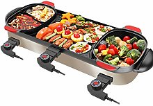 3 in 1 Electric Hot Pot Grill BBQ Electric Skillet