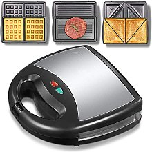 3-in-1 Electric Waffle Maker ,Waffle Maker Iron
