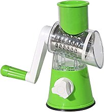 3-in-1 Fruit and Vegetable Chopper| Manual Rotary