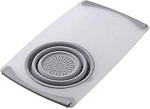 3 in 1 Multi-Function Food Tray Sink Drain Basket