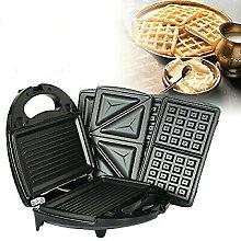 3 in 1 Multifunctional Waffle Maker, Kitchen