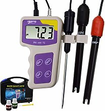 3 in 1 pH mV ORP Temperature Redox Meter,