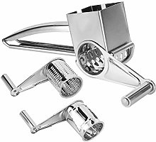 3 in 1 Rotary Cheese Grater, Cheese Slicer