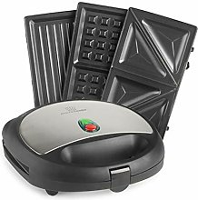 3-in-1 Sandwich Toaster Maker MisterChef®