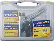 3 in 1 Staple Gun Heavy Duty Hand Upholstery 600PC