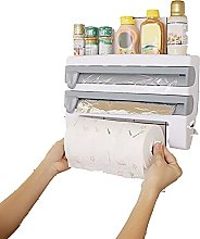 3 in 1 Wall-Mount Storage Rack for
