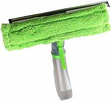 3 in 1 Window Cleaner Spray Bottle Wiper Squeegee