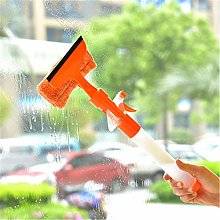 3-In-1 Window Cleaning Scrubber Glass Squeegee
