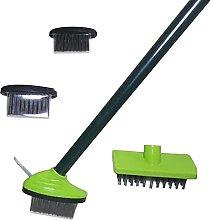 3 In 1Multifunctional Weeding Brush Set, Weed