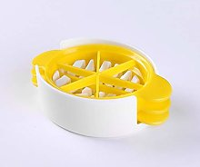 3-IN-1Oval Egg Slicer, Plastic Egg Divider Kit