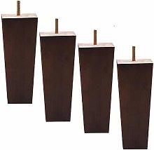 3 inch Wood Furniture Legs Sofa Legs Pack of 4