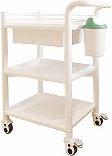 3 Layers Medical Equipment Serving Carts with