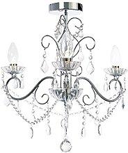 3 Light Bathroom Chandelier - Beautiful Elegant