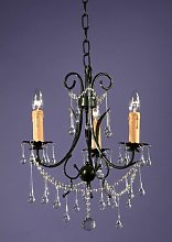 3-Light Candle-Style Chandelier Astoria Grand