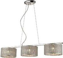 3 Light Ceiling Pendant Silver, G9 - Spring