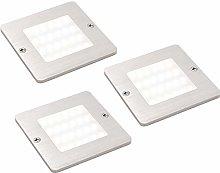 3 Pack | 5W LED Square Under Cabinet Kitchen