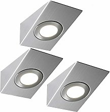 3 Pack | Bright 2.6W LED Under Cabinet Wedge Spot