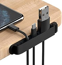 3 Pack Cable Clips Management Organiser Cable Cord