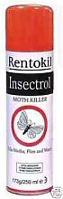 3 Pack Of Rentokil Insectrol Moth Killer 250Ml